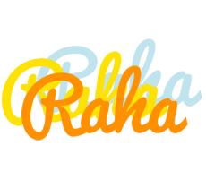 Raha energy logo