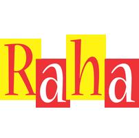 Raha errors logo