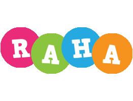 Raha friends logo