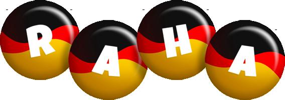 Raha german logo