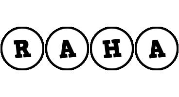 Raha handy logo