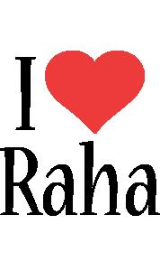 Raha i-love logo