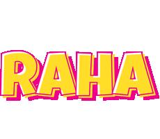 Raha kaboom logo