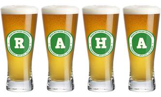Raha lager logo
