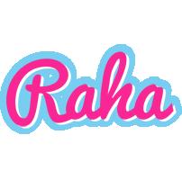 Raha popstar logo