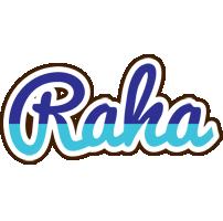 Raha raining logo