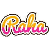 Raha smoothie logo