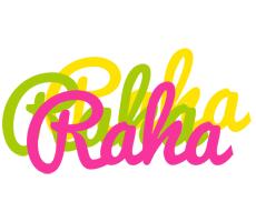Raha sweets logo