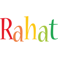 Rahat birthday logo