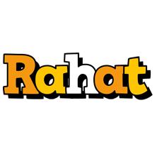Rahat cartoon logo
