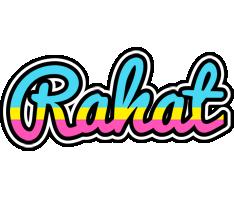 Rahat circus logo