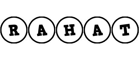 Rahat handy logo