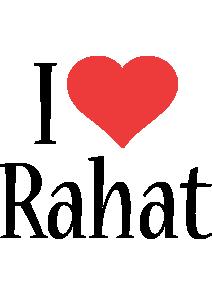 Rahat i-love logo