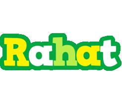 Rahat soccer logo