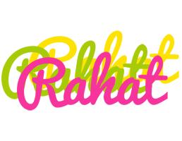 Rahat sweets logo