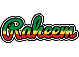 Raheem african logo