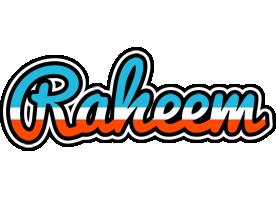 Raheem america logo