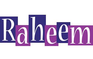 Raheem autumn logo