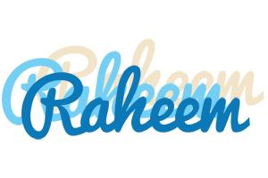 Raheem breeze logo