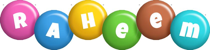 Raheem candy logo