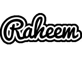 Raheem chess logo