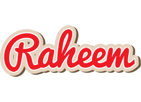 Raheem chocolate logo
