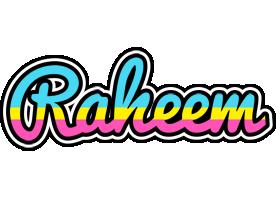 Raheem circus logo