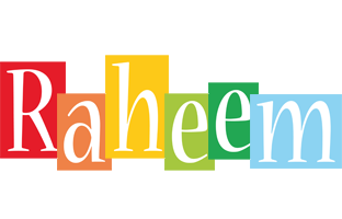 Raheem colors logo