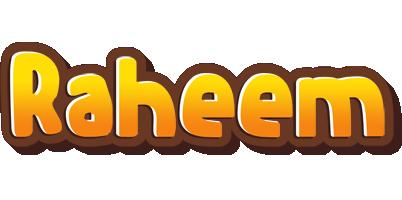 Raheem cookies logo
