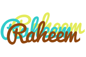 Raheem cupcake logo