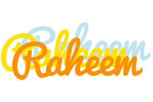 Raheem energy logo