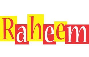 Raheem errors logo