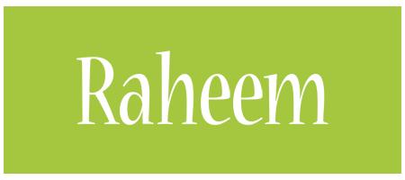 Raheem family logo