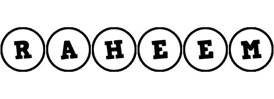 Raheem handy logo