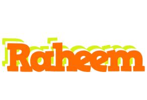 Raheem healthy logo