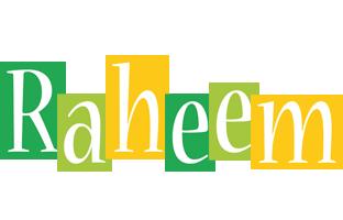 Raheem lemonade logo