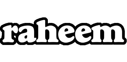 Raheem panda logo