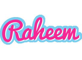 Raheem popstar logo