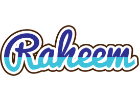 Raheem raining logo