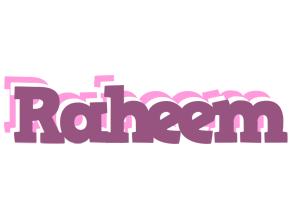 Raheem relaxing logo