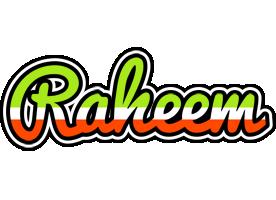 Raheem superfun logo