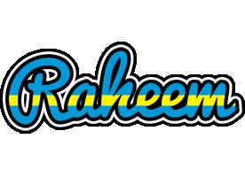 Raheem sweden logo