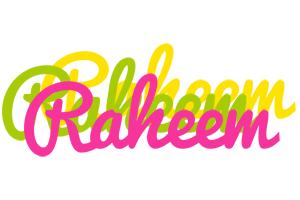 Raheem sweets logo