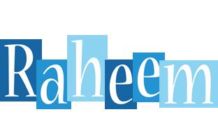 Raheem winter logo