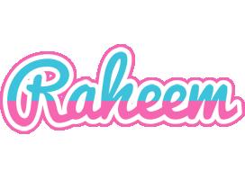 Raheem woman logo