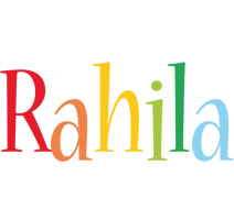 Rahila birthday logo