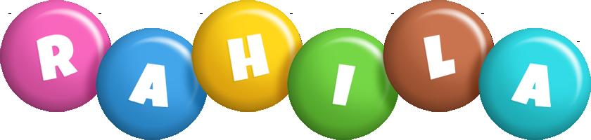Rahila candy logo