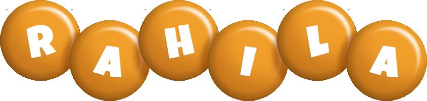 Rahila candy-orange logo