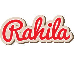 Rahila chocolate logo