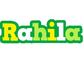 Rahila soccer logo